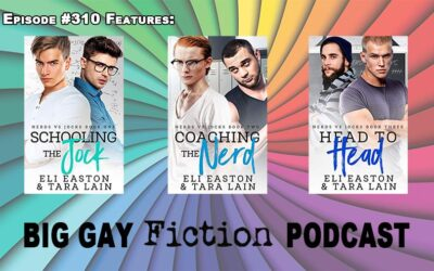 Nerds vs Jocks, Tara and Eli on Big Gay Fiction Podcast