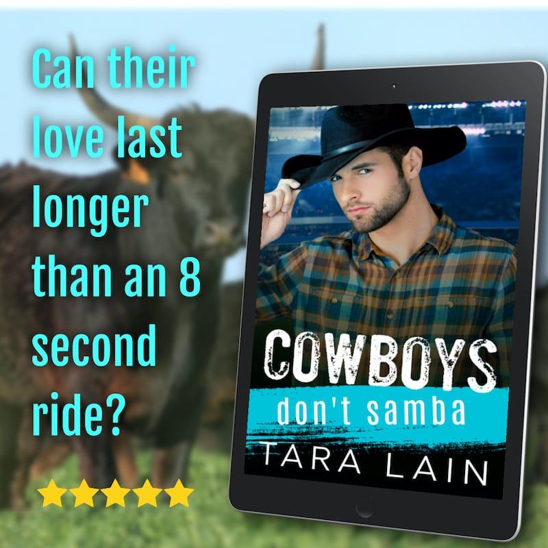 Cowboys Don't Samba by Tara Lain Promo