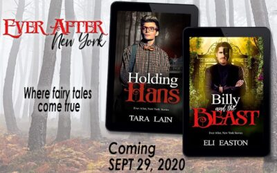 Fabulous COVER REVEAL! Two New Contemporary Fantasies, HOLDING HANS and BILLY AND THE BEAST