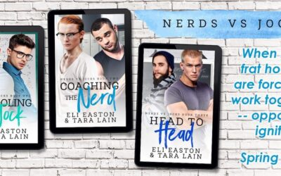 COVER REVEAL! SCHOOLING THE JOCK – the First Tara Lain-Eli Easton Collaboration