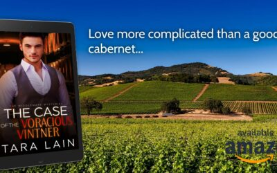 The Case of the Voracious Vintner Re-Released! Love More Complex that a Good Pinot Noir.