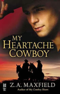 Book Cover - My Heartache Cowboy (The Cowboys #2)